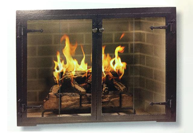 Fireplace Glass Doors Sales Installation Pasadena La