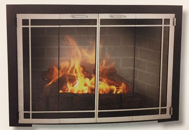 Fireplace Glass Doors Salesinstallation Pasadena La Canada