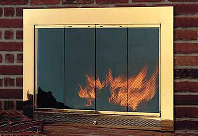 Fireplace Glass Doors Salesinstallation Pasadena La Canada