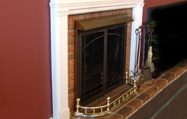 Fireplace Grates, Screens, Tool Sets