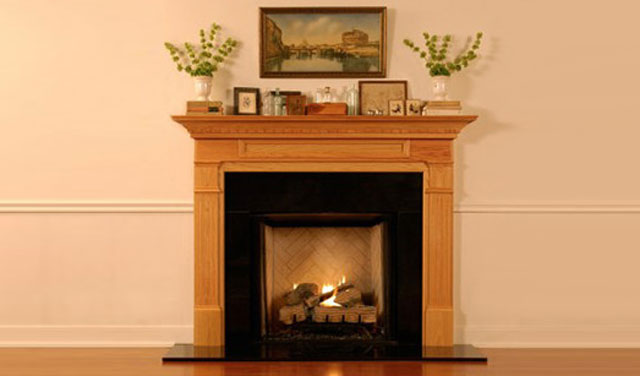 Pasadena Wood & Precast Fireplace Mantels